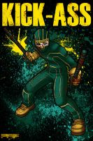 KICK-ASS by DeathRattleSnake