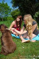 Abbi, Phoebe and Lily Two by Faceler