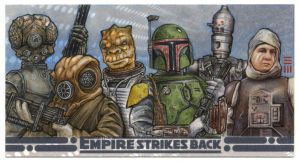 Bounty Hunters - ESBWV Artist Proof by Erik-Maell