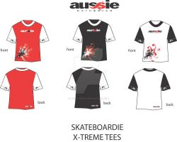 T-Shirt concepts for Aussie BB by Jezzy-Fezzy