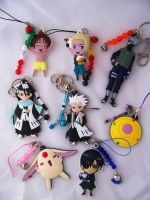 Anime Keychains and Charms by ShishoDesigns