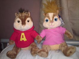 alvin and brittany by cartoonprincessML