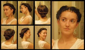 How To: Esther's Hair (Pink Dress) by Durnesque