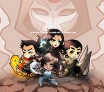 CHIBI TEAM AVATAR (KORRA) by chuwenjie