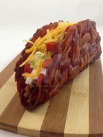 bacon taco by michelous