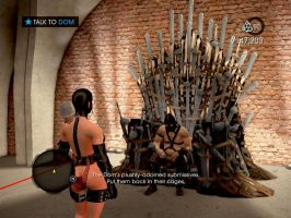 'Saints Row 4' Game of Thrones Easter-Egg by lezisell