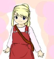 FMA- Young Winry Rockbell by i-eat-scotchtape