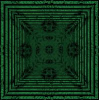 Hallway Ascii Kaleidoscope by fence-post