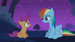 Dash comforts Scoot by ZanderalS