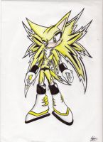 Static The Hedgehog.:Updated:. by Trinico