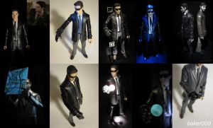 Heavy Rain...Best of Norman Jayden Custom Fig Pics by Baker009