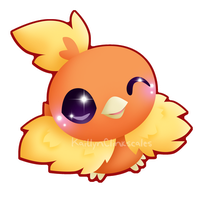 Torchic v2 by Clinkorz