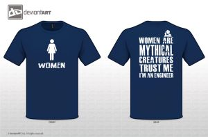 Women are mythical creatures by dimensionoxid