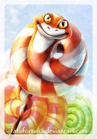 Sweet snake by FataFortuna