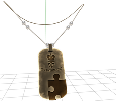 MMD -Dog Tag  -DOWNLOAD by MMDFakewings18