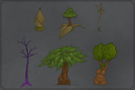 Fanzy Plants by TheDangerCat