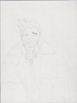 Bad Gumshoe sketch by OwLtheweird13