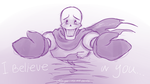 Quick art - Papyrus by LethalAuroraMage