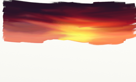 Another sunset by fr3quency