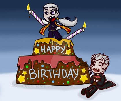 - Happy Birthday VV and CK! - by katNiccals