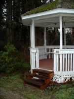 gazeebo side view by JensStockCollection