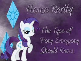 House Rarity - Game of Ponies by zaponator
