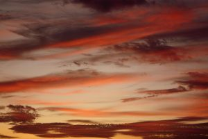 sunset by crissial