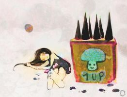 TBC-1up-f by IsziMeansCupcake