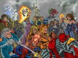 Age of Apocalypse colored by psdguy
