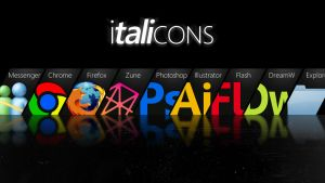 Italicons by yas41