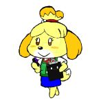 Animal Crossing: Isabelle by AmpleDeviant
