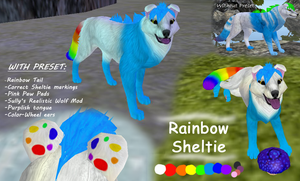 THE AMAZING RAINBOW SHELTIE by Sky-Lily