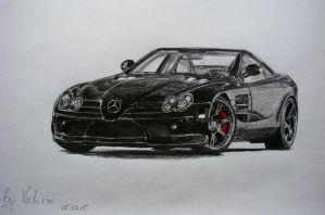 Mercedes-Benz Mclaren by long-haired-lady