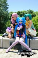 Sheryl, Ranka and Klan. by Candustark