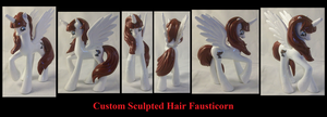 Sculpted Hair Fausticorn by Gryphyn-Bloodheart