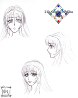 Chidori Face Angles (WIP) by BloodAngel28