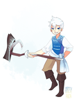 Captain Jack Frost by ArtsyAica