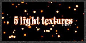 5 light textures by reecito