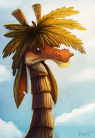 DAY 38. Jungoraffe (35 Minutes) by Cryptid-Creations