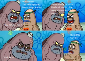 Welcome To The Salty Spitton Meme: Melee by SmashingStar64