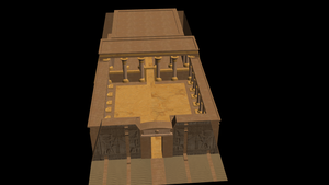 Egypt Temple Finished by MMDLowdisan
