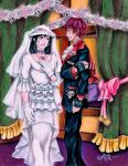 DMMD - MizuSei - Minutes Before the Wedding by LadyJuxtaposition