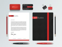 DZR Studios - Branding and Stationery by dronzer92