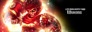 [League of Legends][Signature design] Wukong by etershine