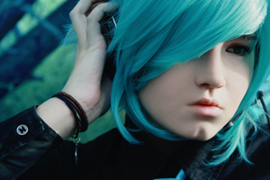 Cosplay Hatsune Mikuo. by Shizuo-monster