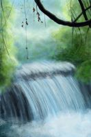 Waterfall by chasing-butterflies