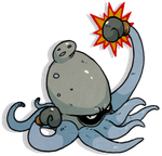 Fakemon: Octopunch by nastyjungle