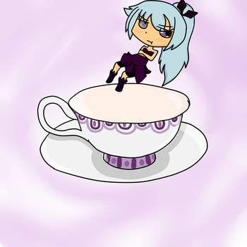 Lyla In A Teacup by bmantiger