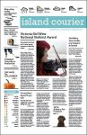 Island Courier Newspaper by Glory14