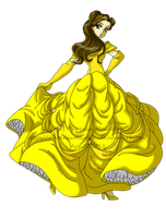 Belle by MissPhiMouse